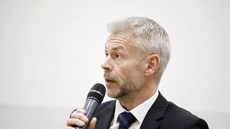 Ylilääkäri Taneli Puumalainen.