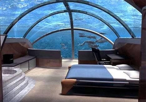 Jules Undersea Lodge Floridassa on upea merenalainen pakopaikka, jonne eivät työmurheet yllä.