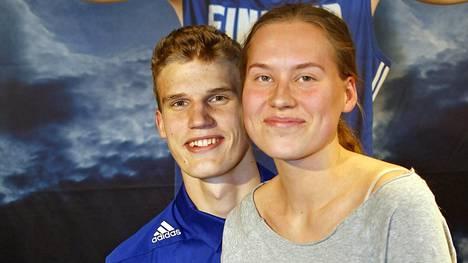 Lauri Markkaselle ja Verna Aholle syntyi poikalapsi.