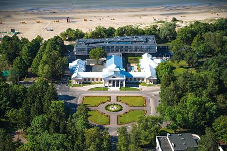 Pärnussa sijaitseva Hedon Spa Hotel.