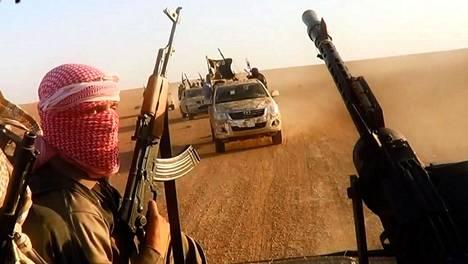 Ääri-islamilainen Isis-järjestö on julistanut hallitsemilleen alueille kalifaatin.