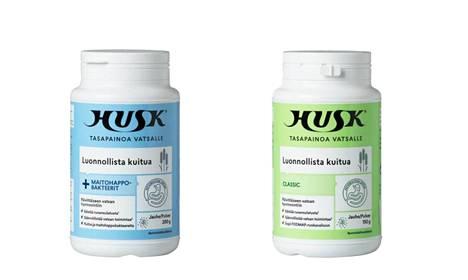 Suomessa myynnistä poistetaan Husk-jauhevalmisteet.