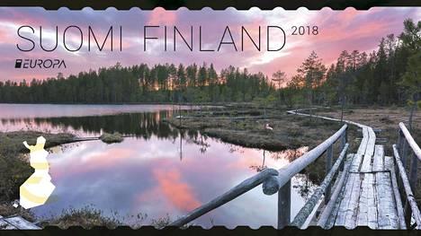 Tässä on viime vuoden kaunein postimerkki – kuva erämaasillasta ihastutti äänestäjiä