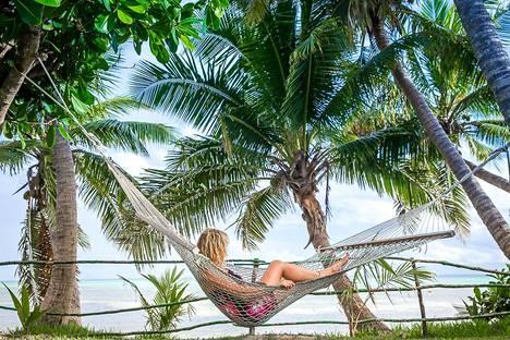 Fidžillä yhdistyy se kaikki, mitä kaukaisilta paratiisisaarilta saattaa toivoakaan, Anna-Katri kertoo.