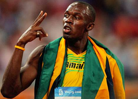 Usain Bolt oli Pekingin olympialasten sankari.