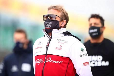 Kimi Räikkönen kuvattuna Nürburgringillä aiemmin tällä kaudella.