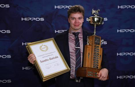 Santtu Raitala on vuoden ohjastaja.