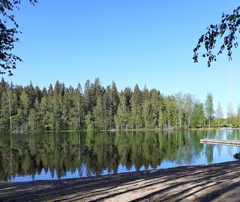 Härjänvatsan uimaranta, Salo.
