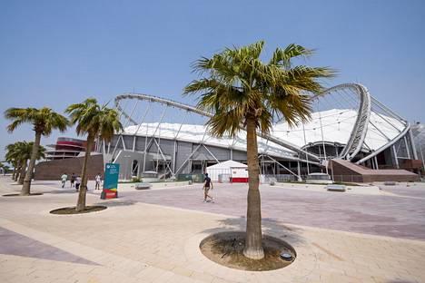 Dohassa piisaa lämmintä.