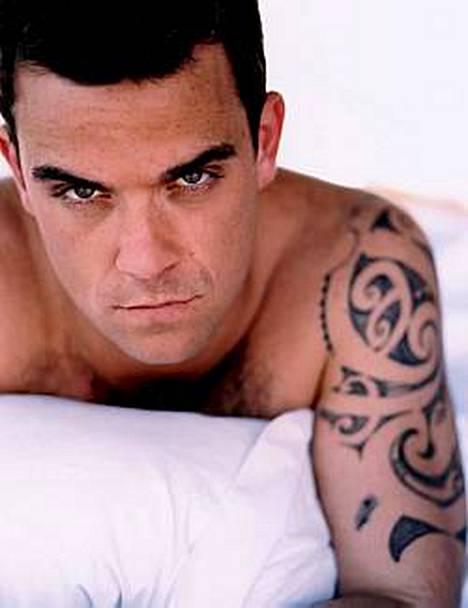 Robbie Williamsin elämän onnellisinta aikaa oli elämä poikamiesboksissa.