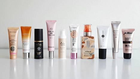 BB-voiteiden idea on yhdistää ihomeikki hoitaviin ominaisuuksiin. Ne ovat peittävyydeltään sävyttävän päivävoiteen ja meikkivoiteen välistä.