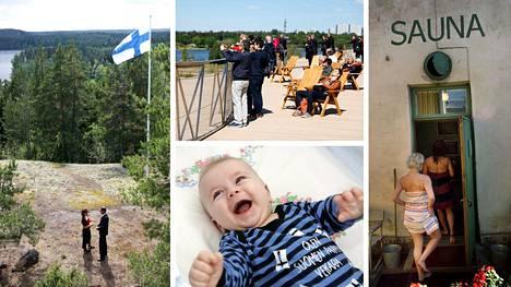 Saksalaistoimittaja kävi Suomessa tutkimassa, millaisista aineksista suomalaisten onnellisuus koostuu.