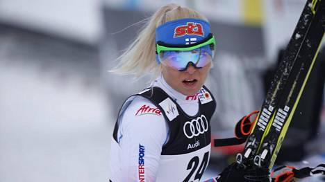 Mari Laukkanen vakuutti sprintin karsinnassa.