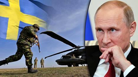 Vladimir Putin on ilmaissut, että Venäjä vastustaa Ruotsin mahdollista Nato-jäsenyyttä.