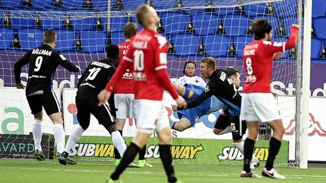 FC Inter teki viime hetkillä 2–1-voittomaalin Helsingissä.