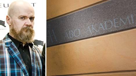 Alexander Bardin oli tarkoitus puhua Åbo Akademin tiloissa.