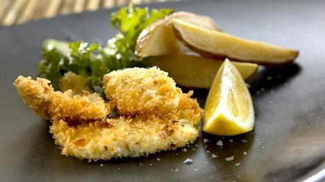 Friteerattu kala käy pikaruoasta.