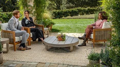 Prinssi Harryn ja herttuatar Meghanin haastattelun Oprah Winfreyn kanssa odotetaan keräävän miljoonayleisön television ääreen.