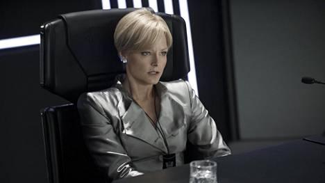Jodie Foster tähdittää lauantain tieteiselokuvaa Elysium.