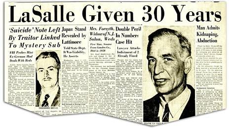 Kaappaaja Frank La Salle tunnusti teon nopeasti, omien sanojensa mukaan säästääkseen Sallya mediamyllytykseltä.