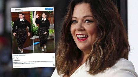 Suosikkinäyttelijä Melissa McCarthy ilmestyi telkkariin suomalaissuunnittelijan kengissä