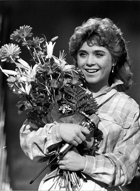 Anja Niskanen voitti Syksyn sävelen vuonna 1984.