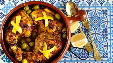 Sitruuna on tärkeä osa marokkolaista keittiötä.
