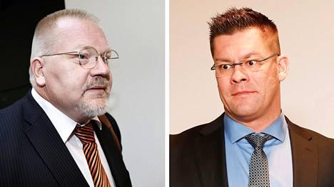 Helsingin käräjäoikeus tuomitsi dosentti Johan Bäckmanin (kuva vas.) vuoden ehdolliseen vankeuteen ja MV-sivuston päätoimittajana esiintyneen Ilja Janitskinin (oik.) yhden vuoden ja 10 kuukauden ehdottomaan vankeuteen rikoskokonaisuudessa, jossa vakavimmat syyksi luetut rikokset liittyvät Jessikka Aron vainoamiseen. Bäckmanin ja Janitskinin tuomiot eivät ole vielä lainvoimaisia, sillä niiden käsittely hovioikeudessa alkaa lokakuussa.