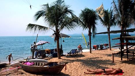 Rantaelämää Thaimaan Pattayalla.
