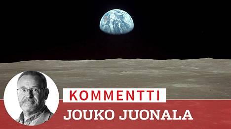 Maapallo näkyi horisontin takaa, kun Apollo 11 kiersi Kuun ympäri ennen miehistön historiallista laskeutumista.