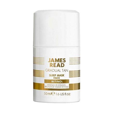 Tästä yötuotteesta saat samalla kertaa retinolit ja päivetyksen. James Read Gradual Tan Sleep Mask Retinol, 37 €, Skincity.fi.