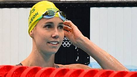 Australialaisuimari Emma McKeon nousi Tokiossa podiumille seitsemän kertaa.