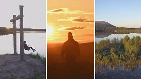 """Lappiin muuttanut Markus kuvasi upean videon keskiyön auringosta: """"Tämä on luontokuvaajan paratiisi"""""""