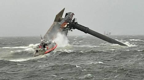 Nosturialus kaatui Meksikonlahdella Louisianan osavaltion edustalla.