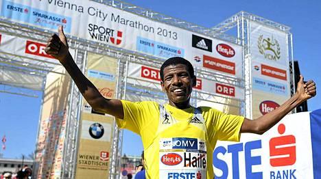 Haile Gebrselassie sai nimikkomaratonin.