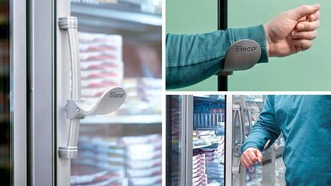 Uusi innovaatio mahdollistaa ovien avaamisen kahvaan koskematta.
