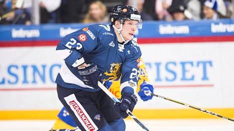 Joonas Kemppainen nähtiin edellisen kerran Leijonissa kaudella 2017–18.