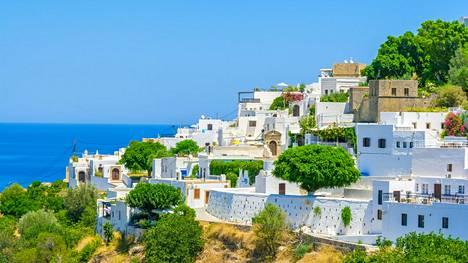 Kreikan Rodos on kasvattanut suosiotaan. Kuvituskuva Rodokselta.