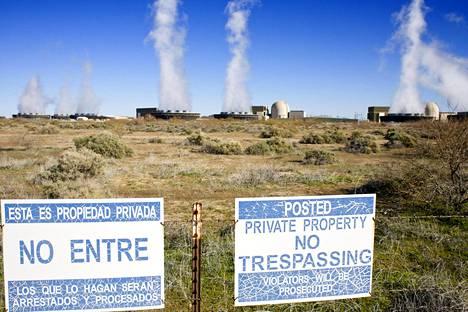 Palo Verden ydinvoimala sijaitsee Arizonassa.