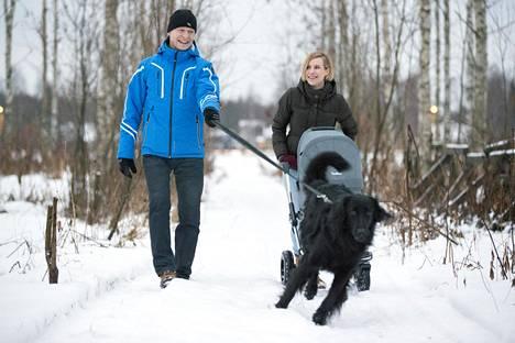 Pariskunnalla on kaksi yhteistä lasta. Kuopus Elsa syntyi kesällä 2019.