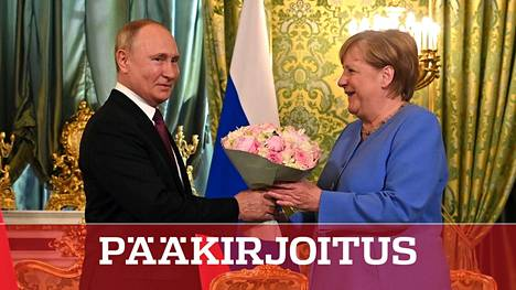 Saksan liittokansleri Angela Merkel teki jäähyväisvierailun Moskovaan elokuun lopulla. Nord Stream 2 on kummallekin johtajalle tärkeä hanke.