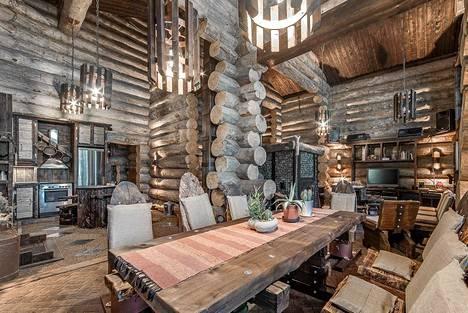 Omistaja rakennutti talon kakkoskodiksi itselleen.