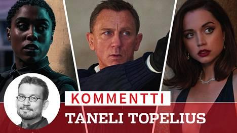 James Bond (Daniel Craig) joutuu trailerin perusteella antamaan uudessa Bond-seikkailussa aiempaa enemmän tilaa naishahmoille. Lashana Lynch näyttelee Nomia ja Ana de Armas esittää Palomaa.