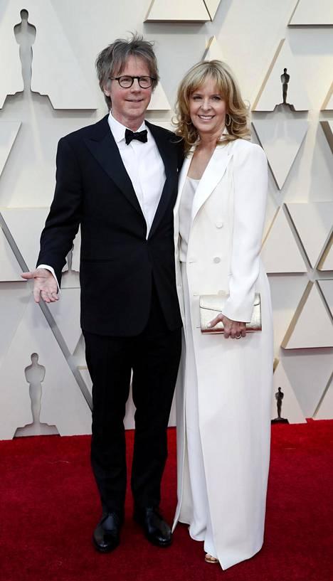Näyttelijä Dana Carvey ja puoliso Paula Zwagerman.