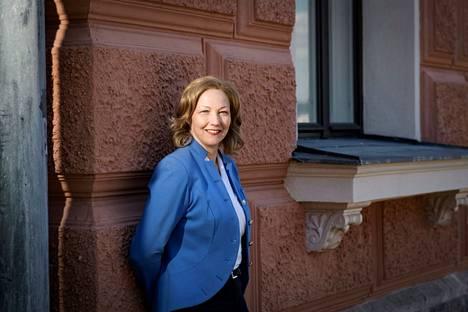 Kiinteistönvälitysalan Keskusliiton toimitusjohtaja Annukka Mickelsson.