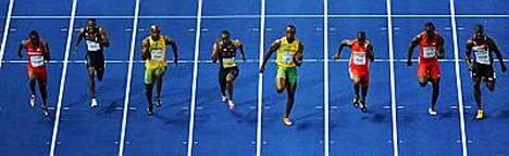 Saksalaislehden väitteiden mukaan yksi heistä, miesten satasen finalisteista, olisi kärynnyt dopingista ennen Berliinin MM-kisoja.