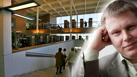 Kirjastovirkailija kertoi poistaneensa Turun kirjaston kokoelmasta Henry Laasasen (kuvassa) kirjan.