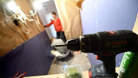 Kotitalousvähennystä on saanut remontteihin vuodesta 2009 lähtien.
