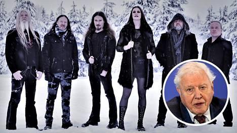 Nightwish pyysi David Attenboroughia uudelle levylleen. Lopulta luontodokumenttien legendaarinen ääni vastasi käsinkirjoitetulla kirjeellä.