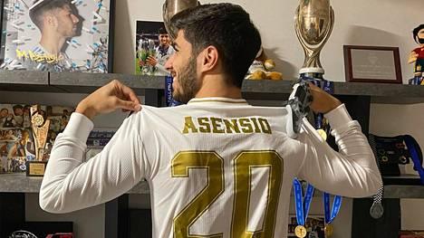 Real Madridin Marco Asensio, 24, oli turnauksessa suorastaan ylivoimainen.